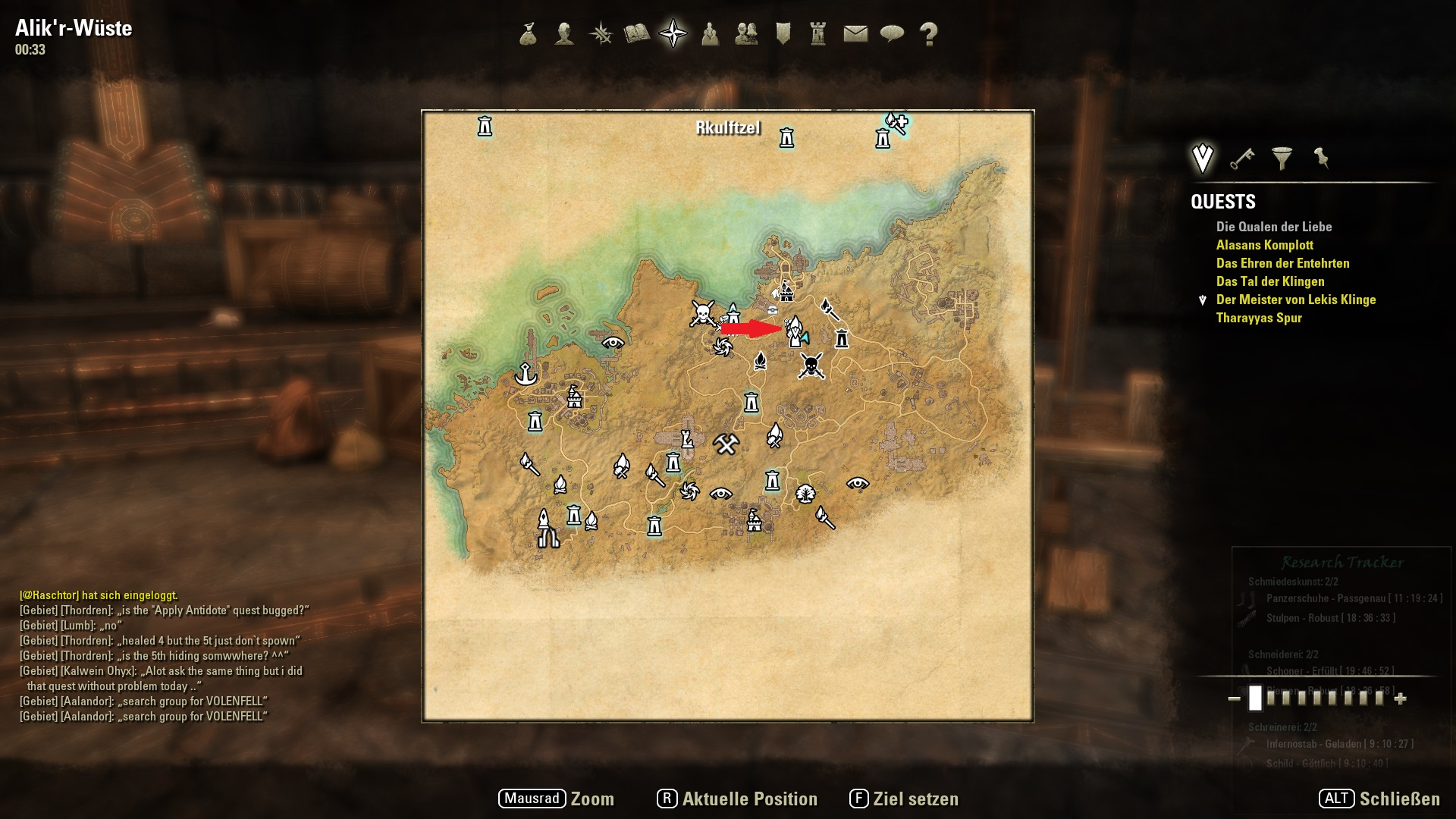 Teso map