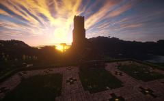 Davenport Basilika Sonnenuntergang