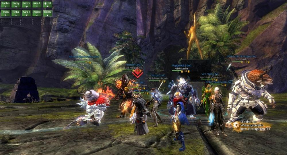 DRUCKWELLE Guild Wars 2 in Action!