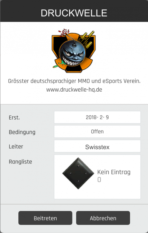 DRUCKWELLE Ironsight