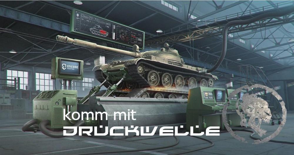 DRUCKWELLE World of Tanks