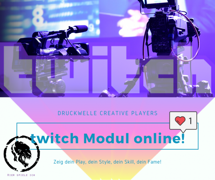 DRUCKWELLE twitch Streamers