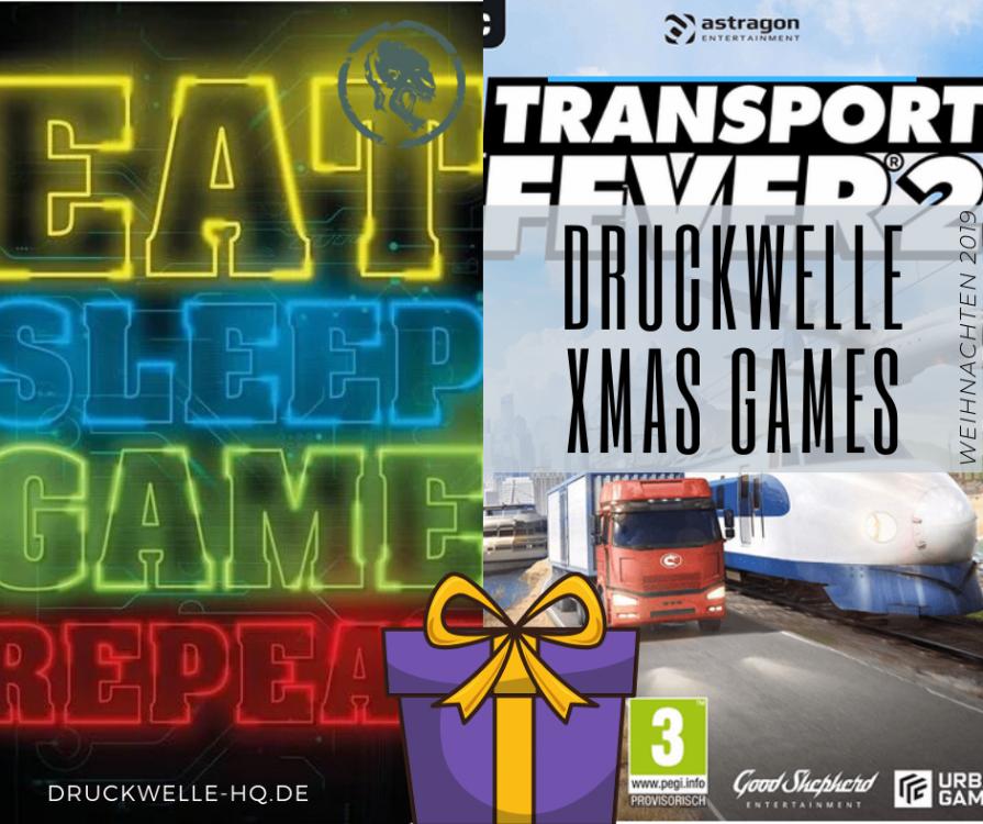 DRUCKWELLE XMAS 2019 Transport Fever 2