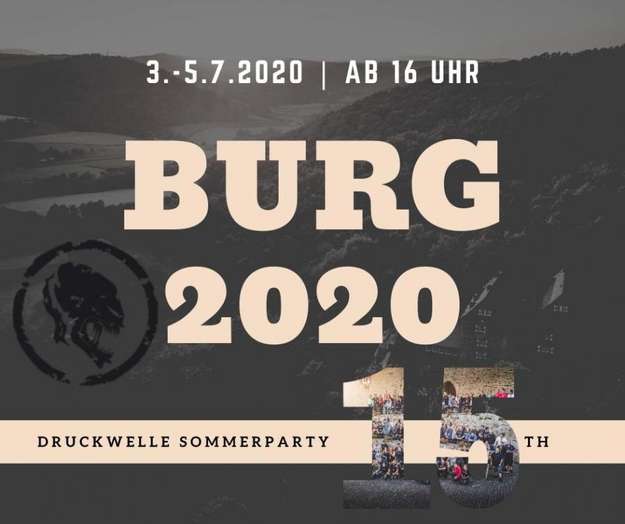 DRUCKWELLE Burg 2020