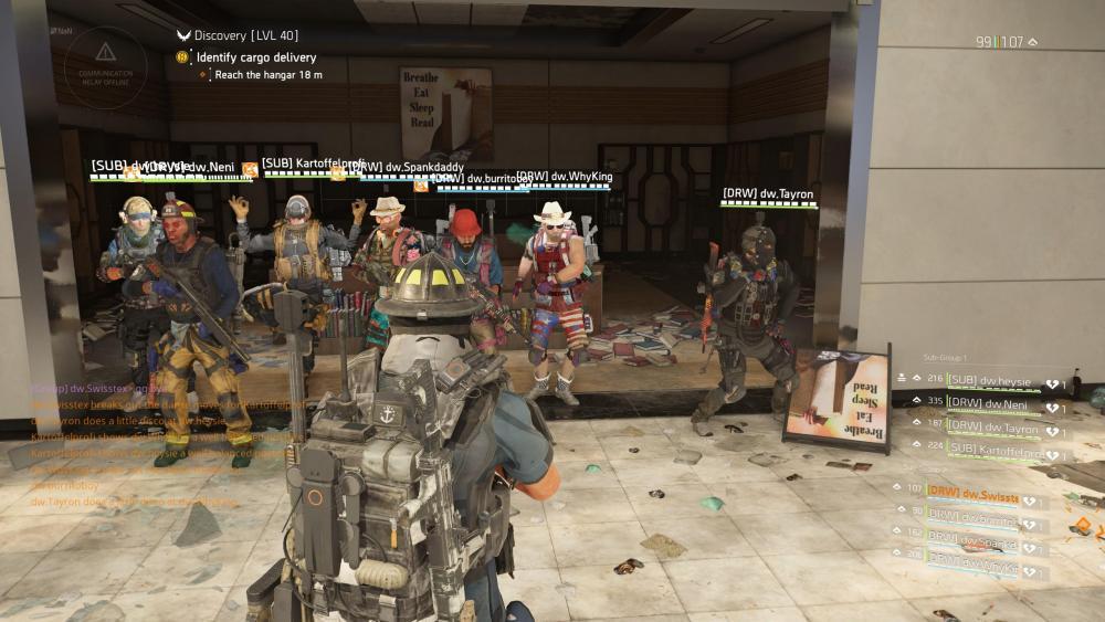 DRUCKWELLE The Division 2 Raid