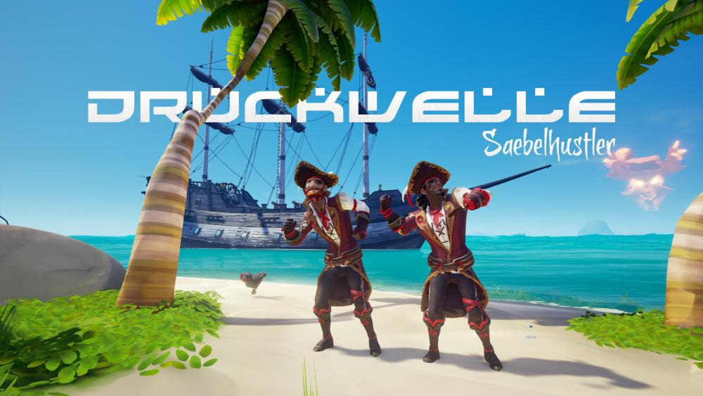 DRUCKWELLE Sea of Thieves