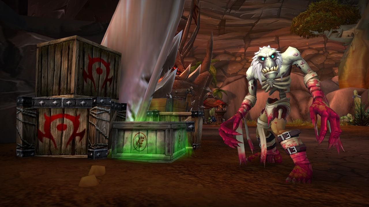 DRUCKWELLE World of Warcraft