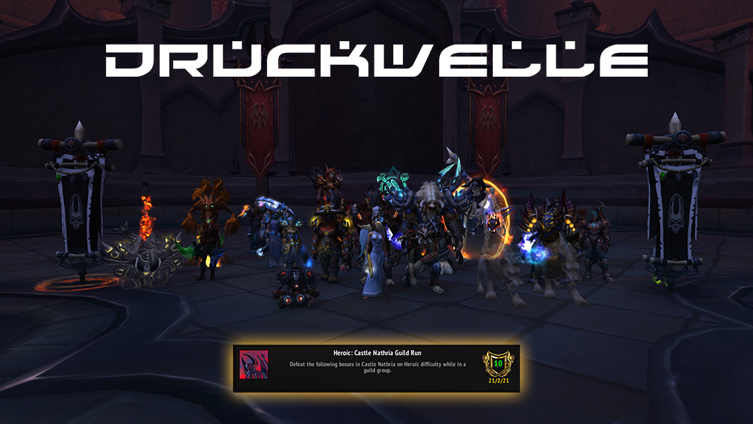 DRUCKWELLE World of Warcraft Heroic