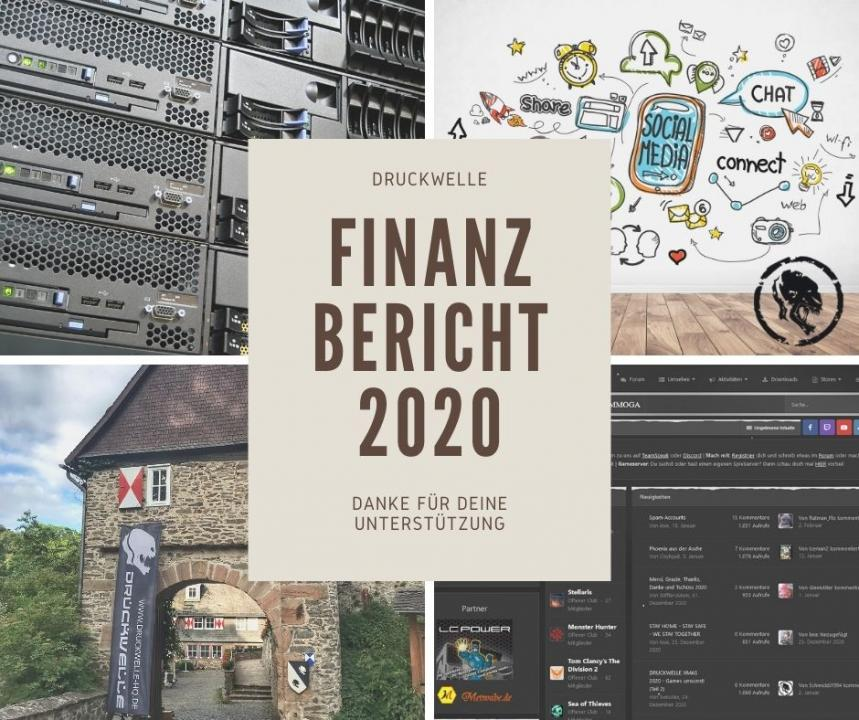 DRUCKWELLE Finanzbericht 2020